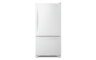 WRB329DFBW - Whirlpool® 19 cu. ft. Bottom-Freezer Refrigerator with Freezer Drawer