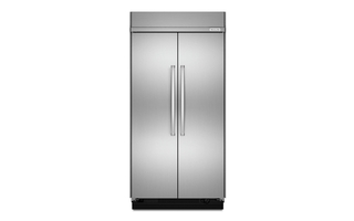 KBSN608ESS - 30.0 cu. ft 48-Inch Width Built-In Side by Side Refrigerator with PrintShield™ Finish