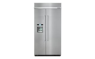 KBSD602ESS - KitchenAid 25.5 cu. ft 42-Inch Width Built-In Side by Side Refrigerator